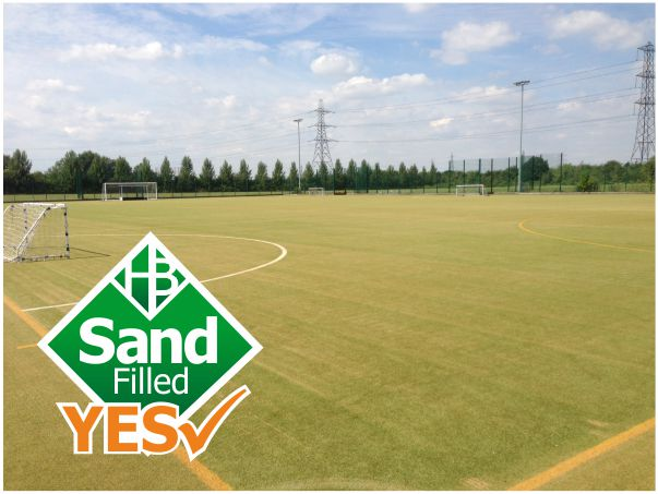 Sand Filled Artificial Pitches